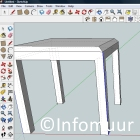 3d tekenen met google sketchup pc en internet software for Gratis tekenprogramma interieur
